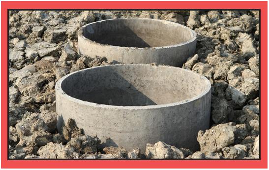 Concrete Septic Tanks Under Construction