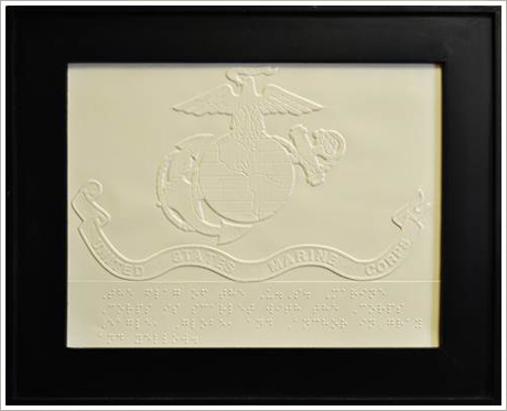 Marine Corps Flag||||$4.00 (frame not included) Click to enlarge