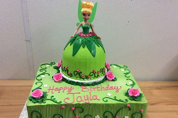 Tinker Bell Birthday Cake