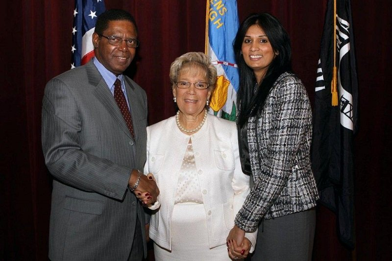 Helen_Marshall_2009_State_of_the_Borough_Address_Colden Center Queens College Jan 13