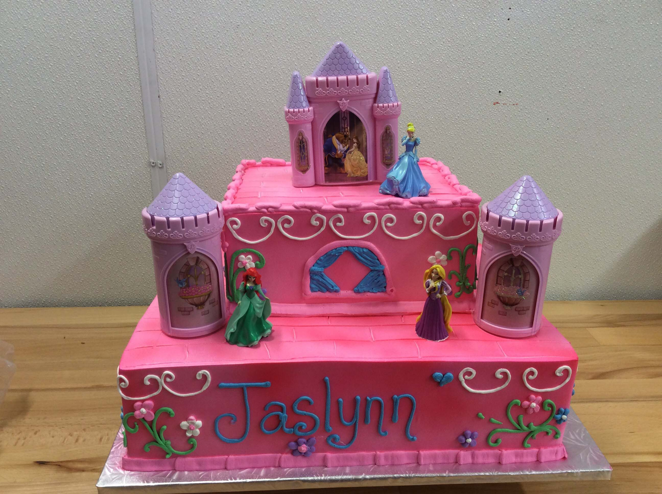 Disney Princesses Birthday Cake 1