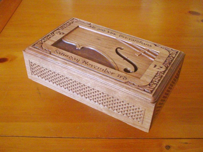 Wedding Music Box