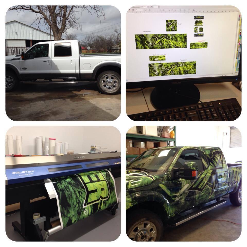Pickup Truck Wrap
