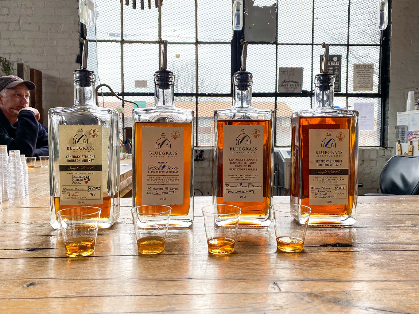 Taster Set -Bluegrass Distillers