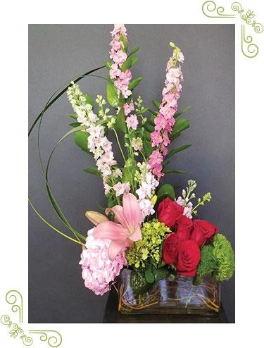 Secret Garden Flower Arrangement
