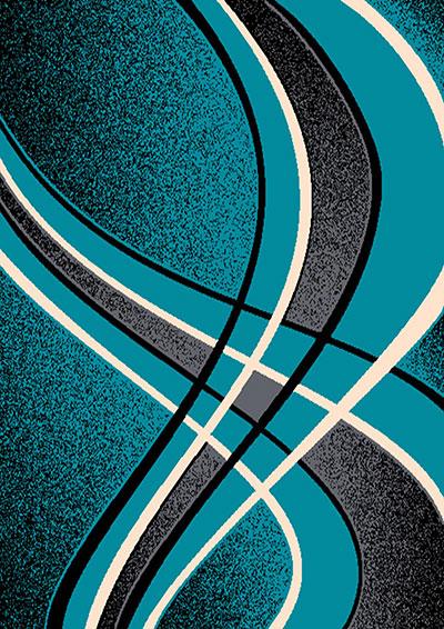 Contempo 42 Turquoise  5x7