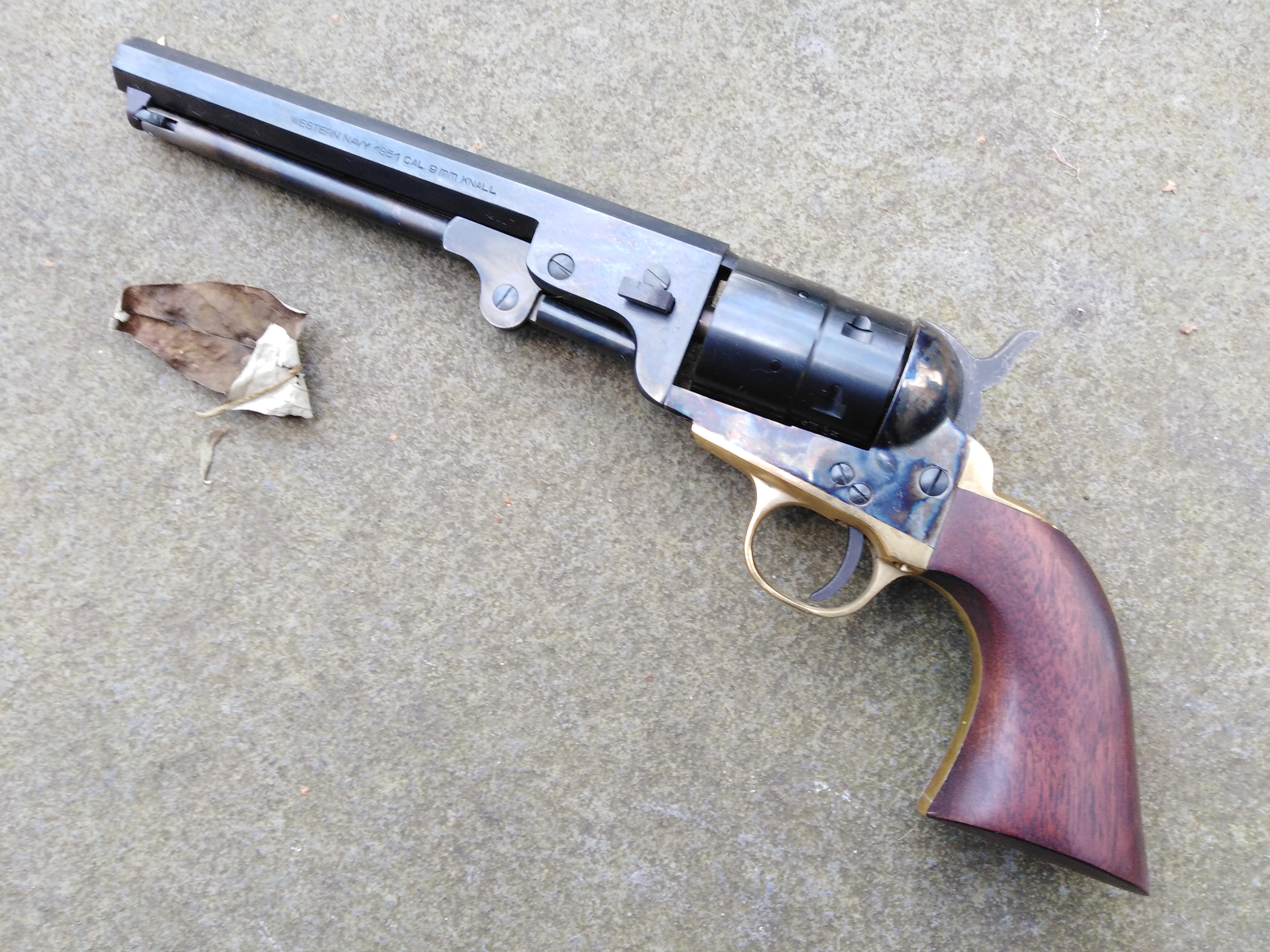Steel Framed Pietta Colt 1851 Navy