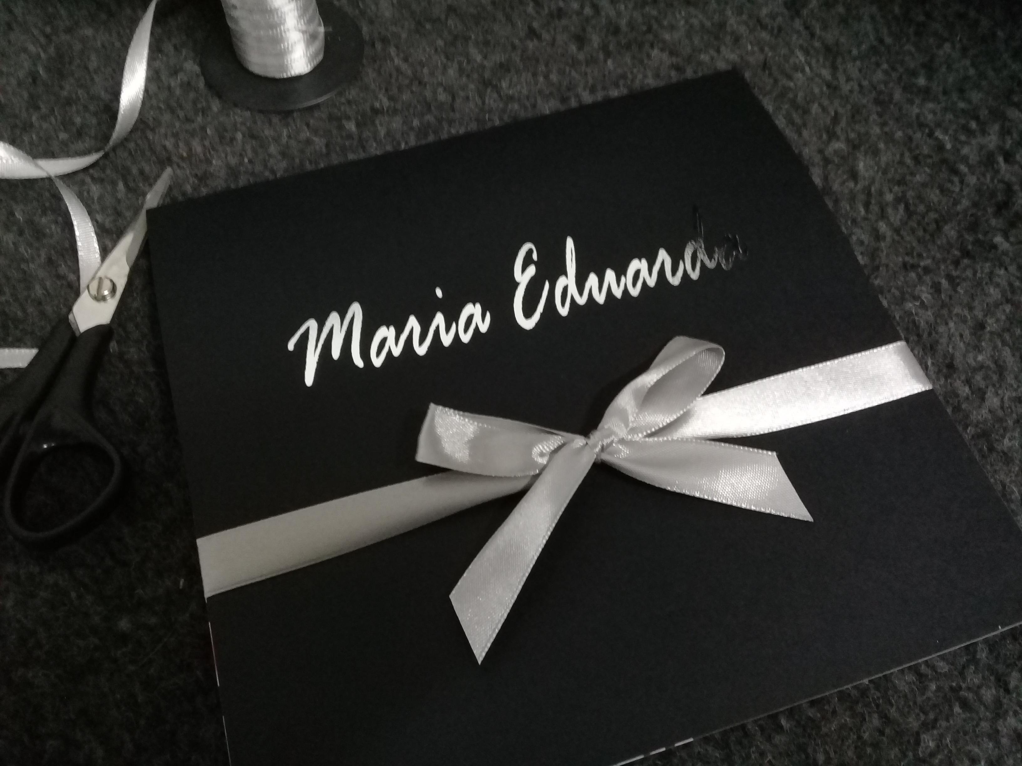 Maria Eduarda com foil