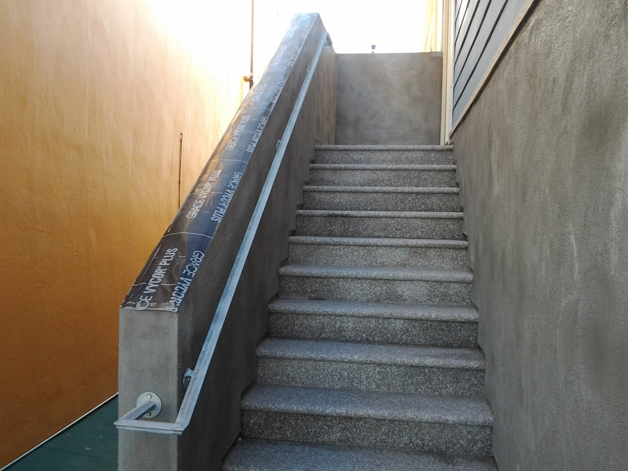 Handrail Example 2 (Molded Tube, sometimes referred to as Mushroom Shape)