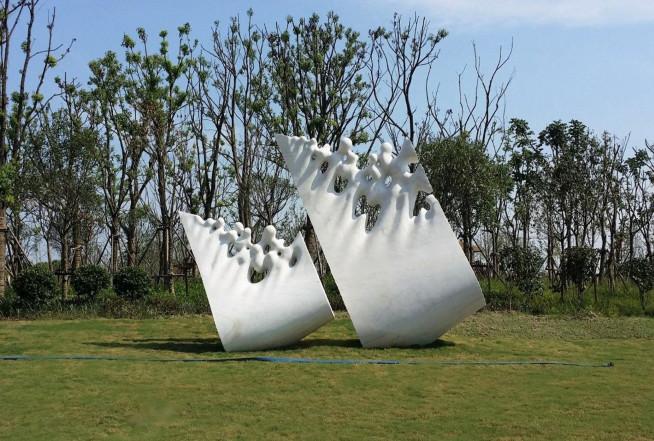 Tide Wonders - marble  H. 420 cm. - Haining - China