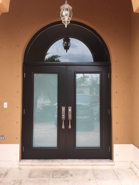 Aluminum Arched Door