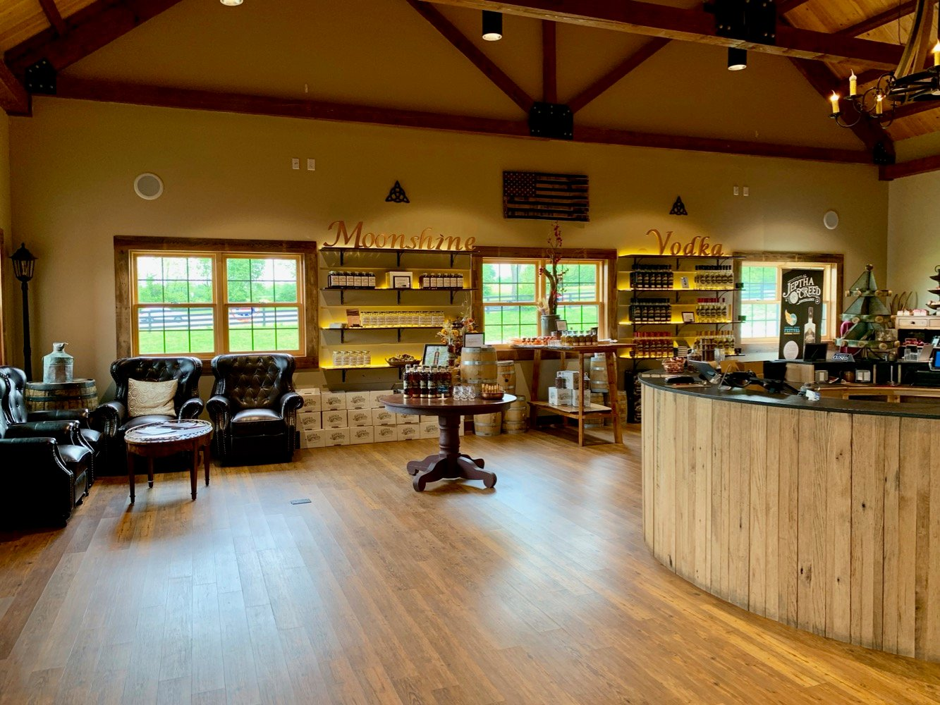 Jeptha Creed Distillery Gift Shop