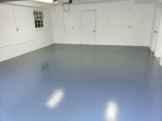 Newly Painted Space