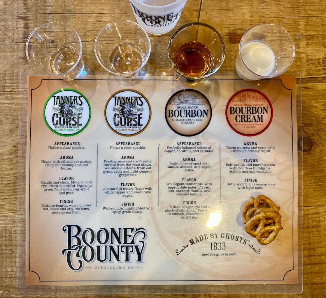 Tasting -Boone County Distilling Company
