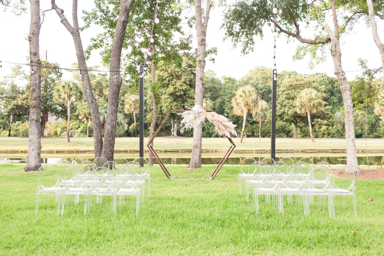 Outdoor Event Setting