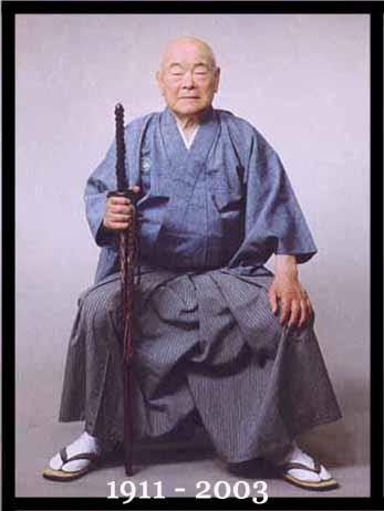 Nakamura Taizaburo, Hanshi, 10th Dan, Shodai Soke, Nakamura Ryu.