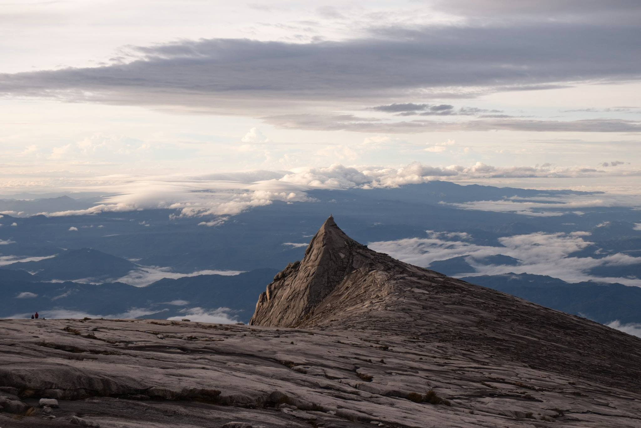 Mt. Kinabalu at sunrise