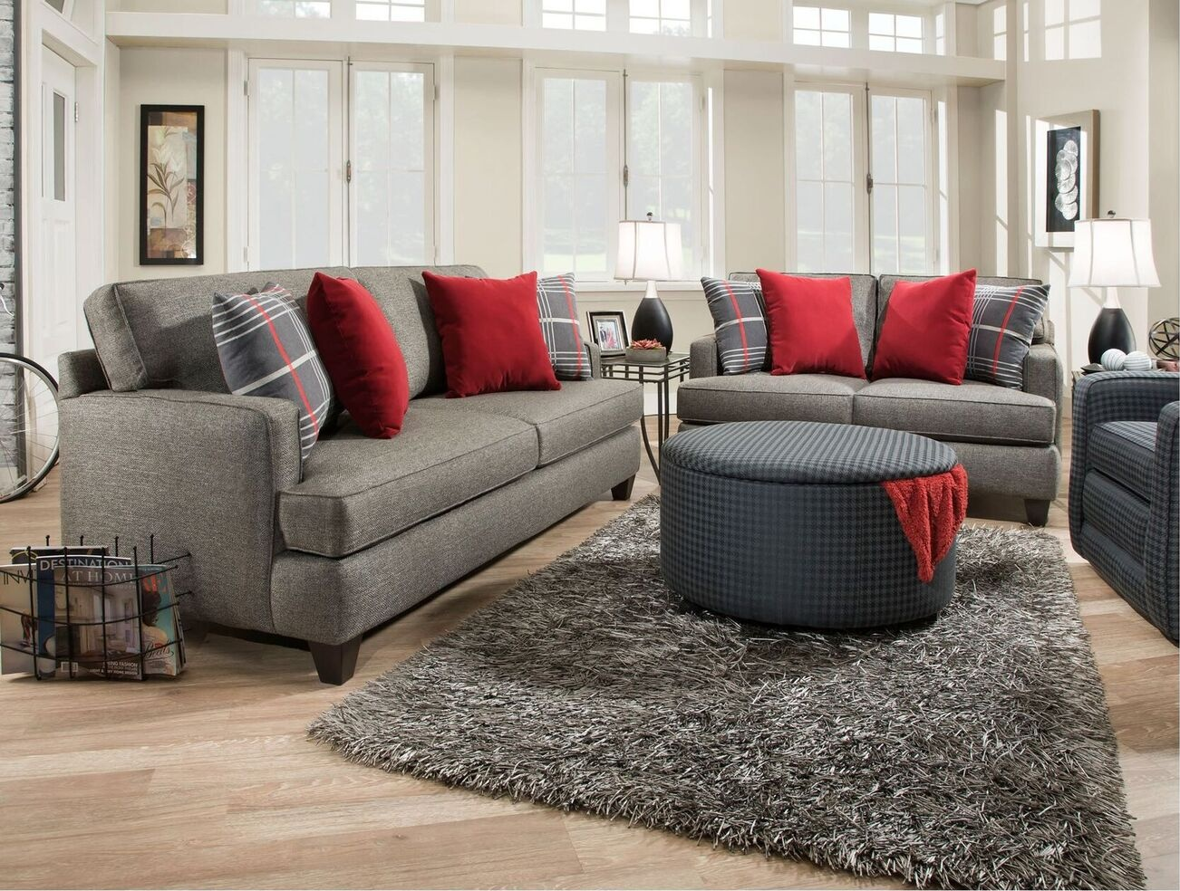 Furniture clearance center upholstered for Affordable furniture greensboro nc