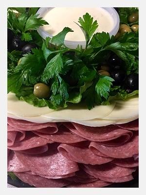 Antipasto Pasta Salad Tray