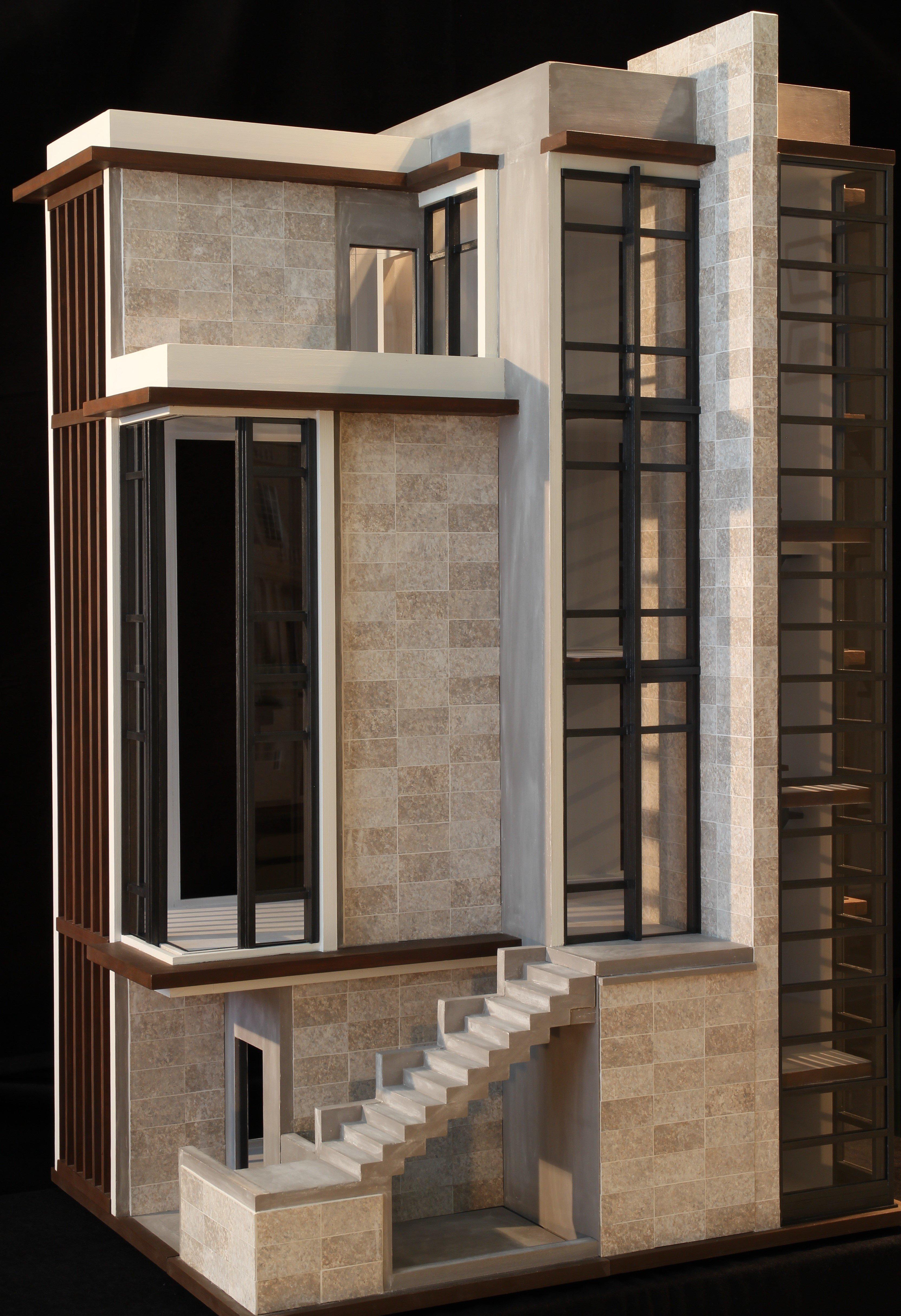 Opening Window Walls in Living Room