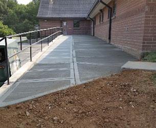 Completed Walkway