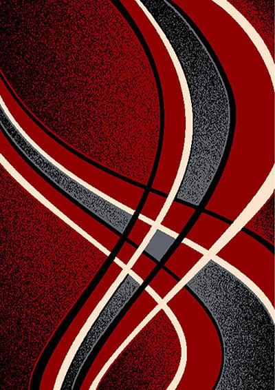 Contempo 42 Red  5x7