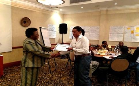 ACC Zambia presenting