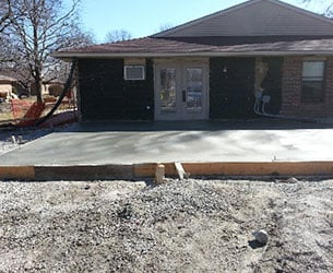 Residential Concrete Patio