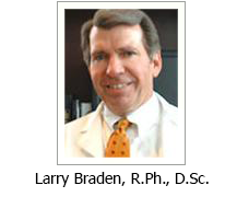 Larry Braden, R.PH., D.Sc.||||