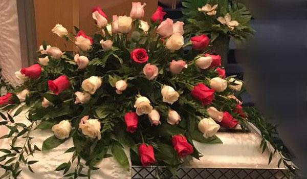 Flowers On Casket 2