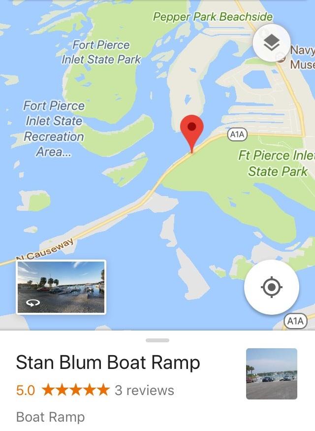 Stan Blum Boat Ramp