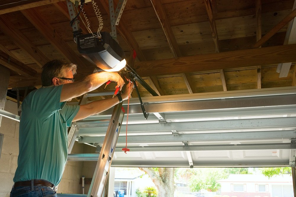 Garage Door Spring Repair in Champaign, IL