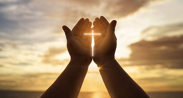 Human Hands Open Palm up Worship