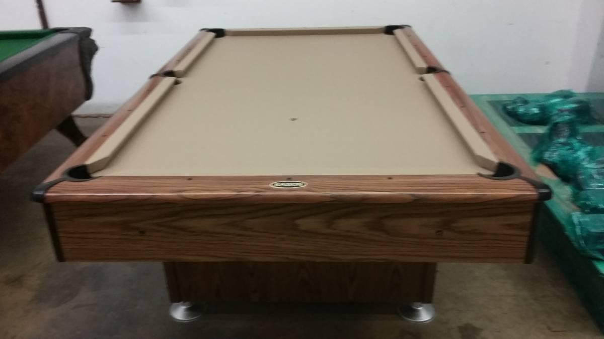 Somar billiards used pool tables for 1 piece slate pool table