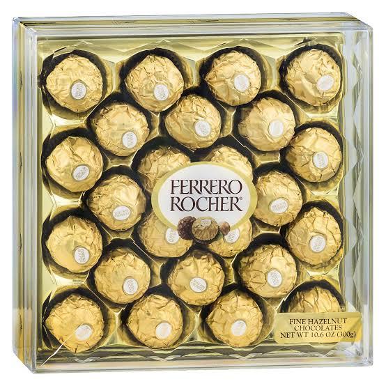 Ferrero de 24piezas $290.00 pesos