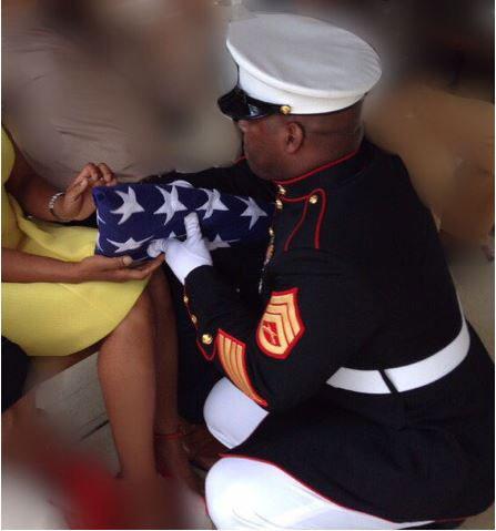Marine Handing Flag