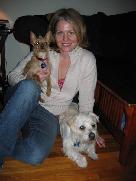 "Debbie is a member of our Board of Directors and fundraiser event coordinator. She adds to our long list of ""foster failures"" meaning she adopted the 3 dogs she was fostering for us!"