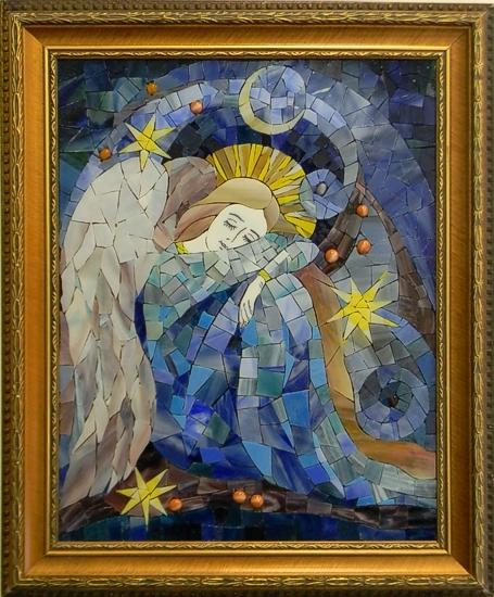 """""""Sleeping Angel"""" by Nataliya Guchenia Size - 13-1/2""""H X 10-1/2""""W $650.00"""