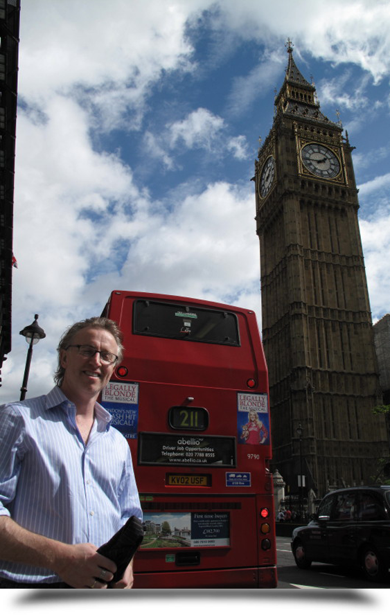 Paul Nugent with big ben||||