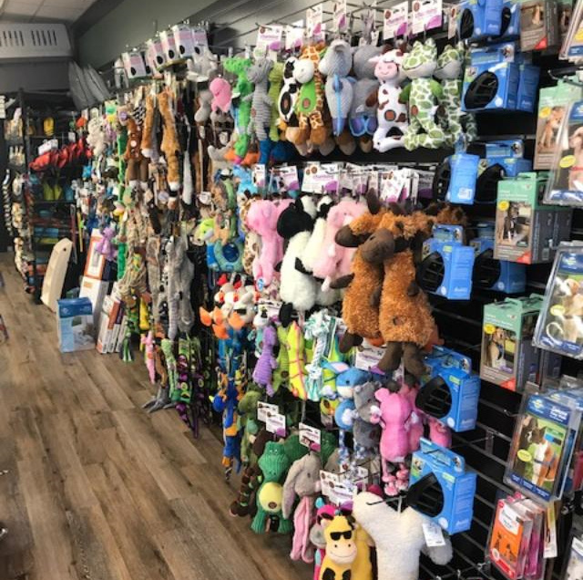 Barkley's Toy Department