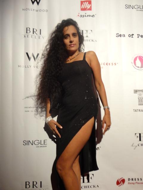 Sanjini Black Dress Event