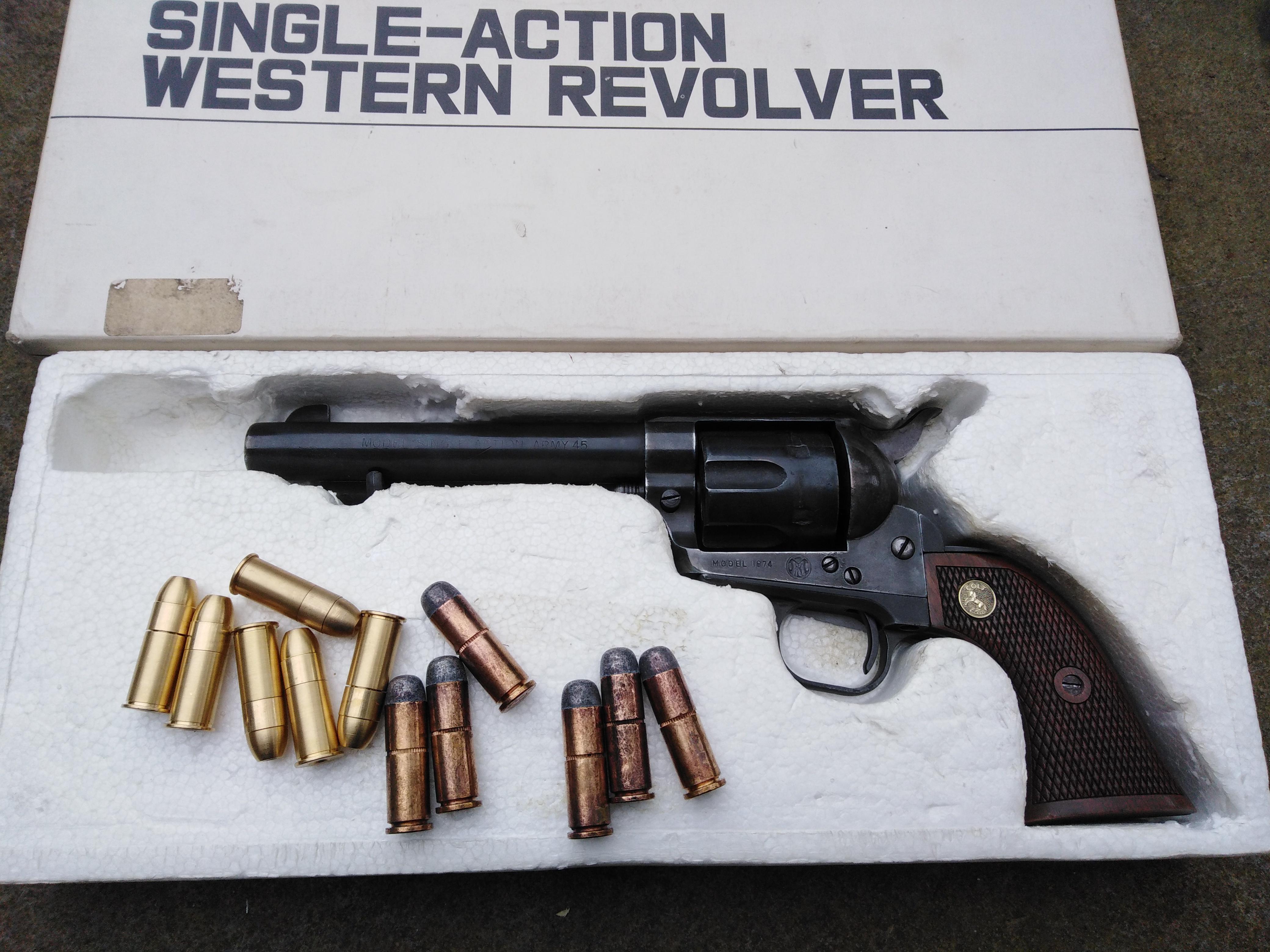 Marushin Custom Colt 45 SAA