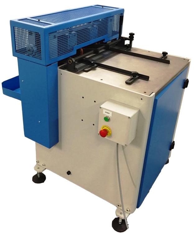 Smyth semi automatic cardboard cutting