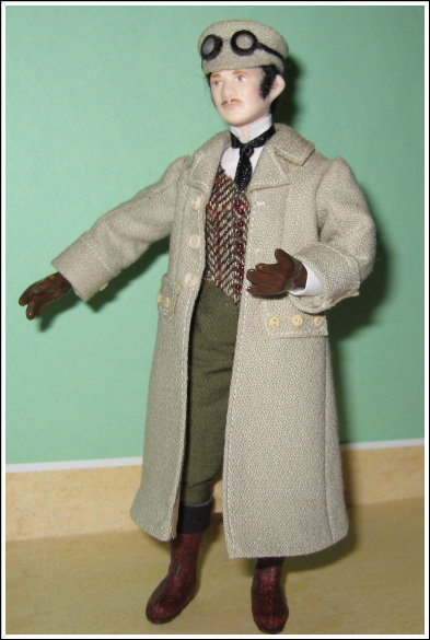 12TH SCALE VICTORIAN MAN DRIVING OUTFIT