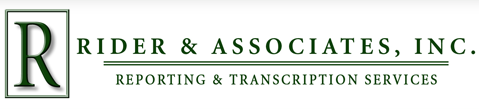 Rider & Associates, Inc. in Vancouver, WA is a transcription service provider.