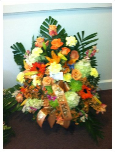 Good flowers arrangement||||