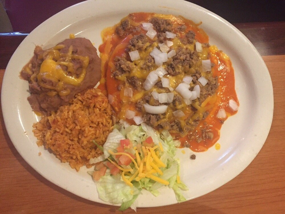 Red Enchilada Plate