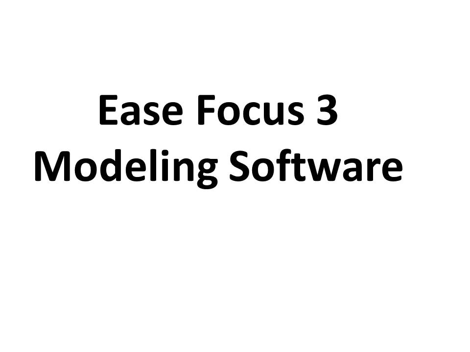 Ease Focus 3 Acosutic Modeling Software