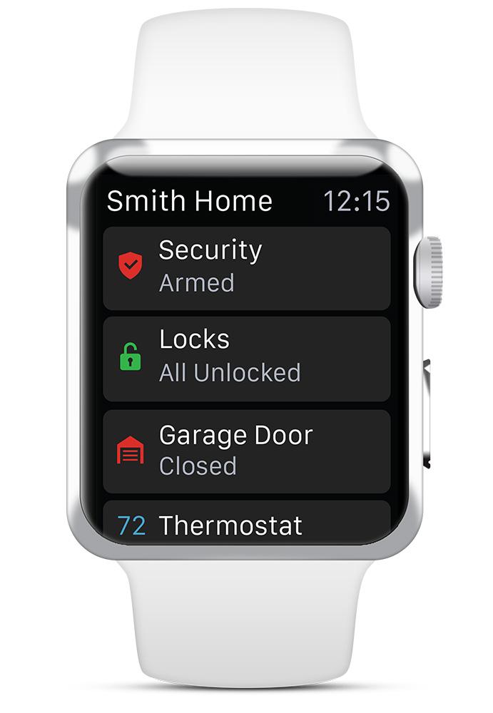 Apple Watch Security App