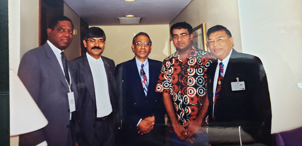 President Jagdeo,  Republic of Guyana